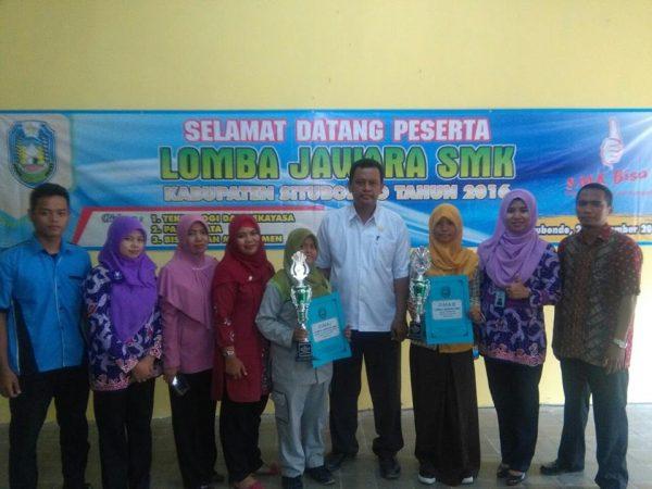Juara 1 Lomba Jawara SMK Tahun 2016 Bidang Teknologi dan Rekayasa