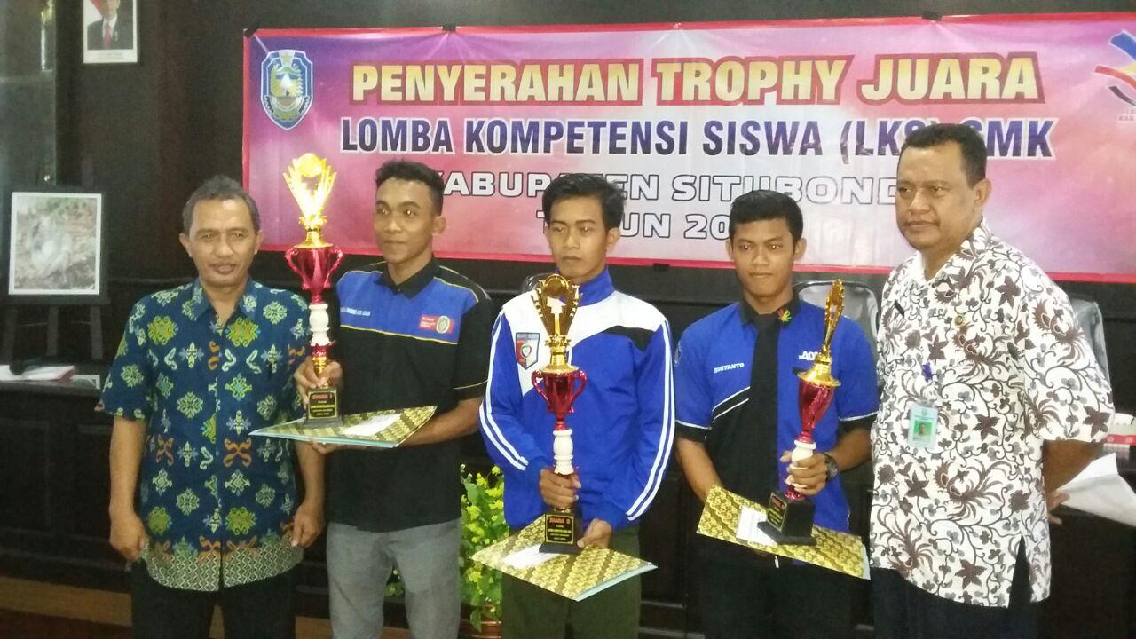 Juara 3 Futsal LKS Kabupaten Situbondo Tahun 2016