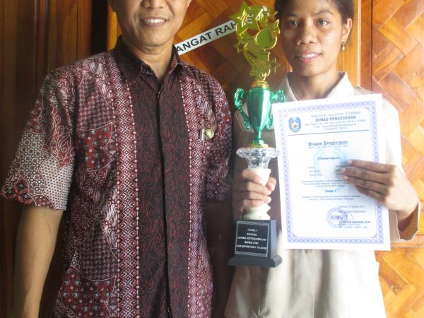 Juara 1 Lomba LKS Tingkat Kabupaten Situbondo Tahun 2015